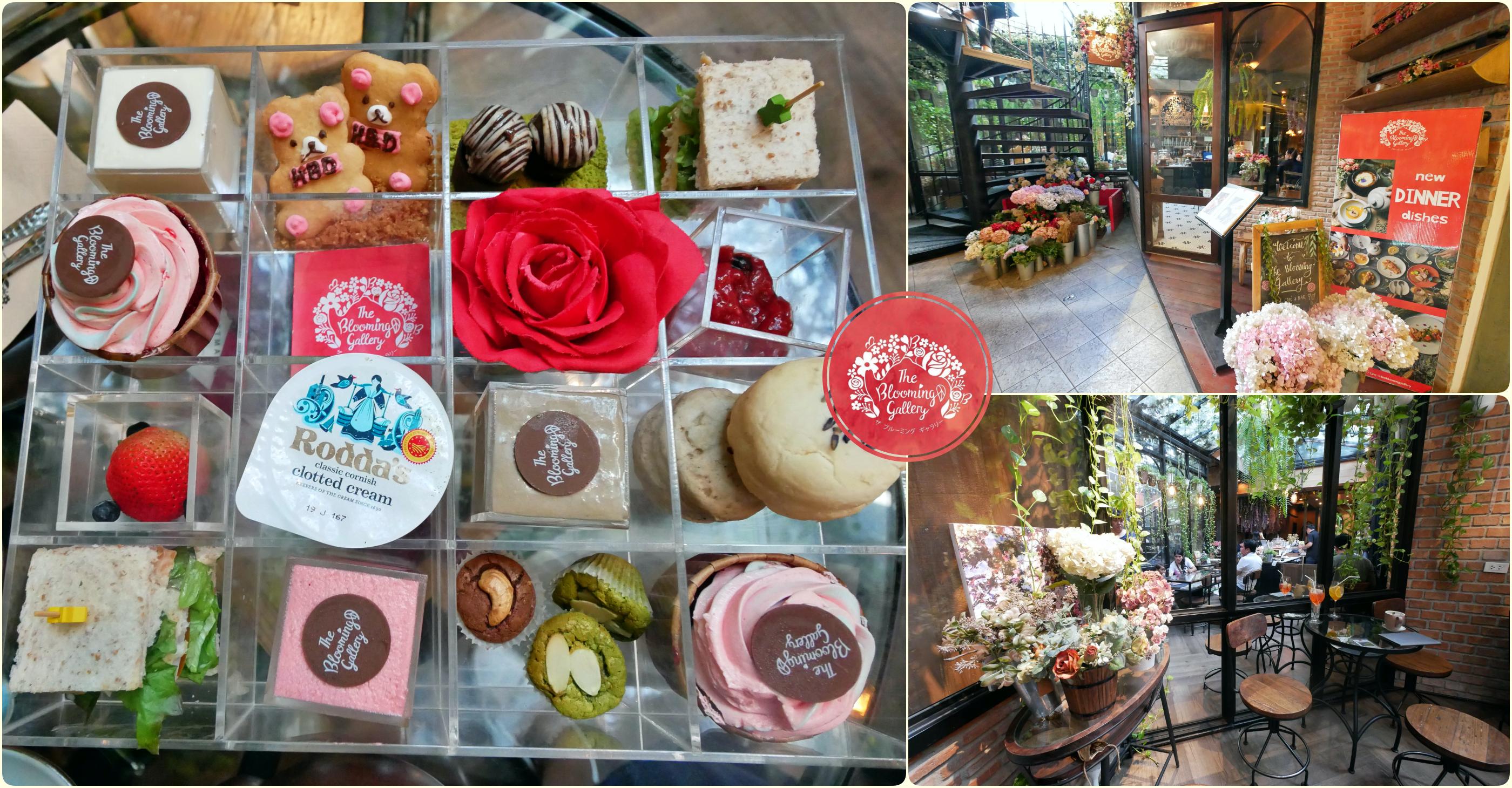 [曼谷美食]The Blooming Gallery|都市叢林裡的透明玻璃屋小花園~植物與花朵圍繞.IG網美打卡店 @VIVIYU小世界