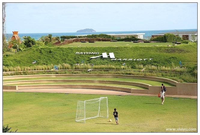 [泰國羅勇]Rayong 住宿|萬豪度假飯店Spa中心~三座環海大泳池&豐盛早餐吧 @VIVIYU小世界
