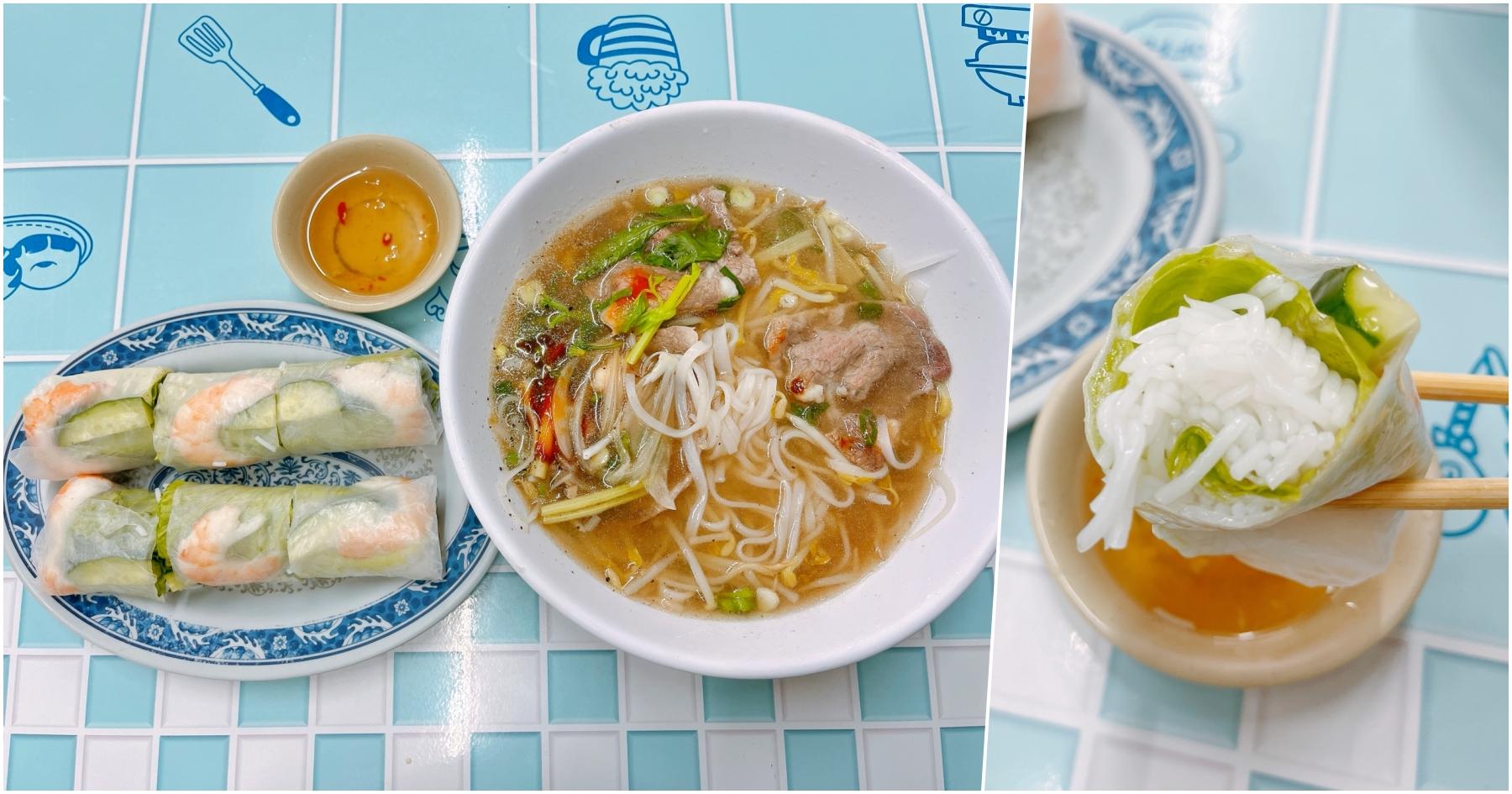 [桃園美食]金美越南美食館 龜山工業區附近~越南人開的餐館.份量多又大份 @VIVIYU小世界